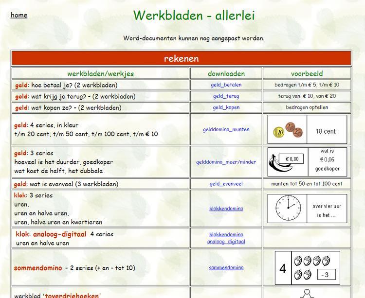 Algebra-werkbladen Downloaden 5