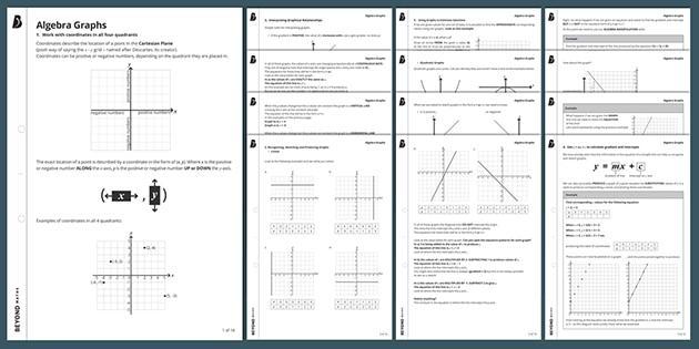 Algebra-werkbladen Ks3 9