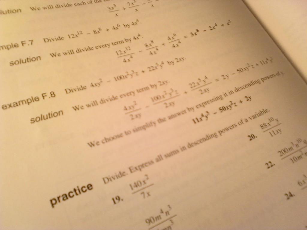 Algebra Werkbladen Middelbare School 8
