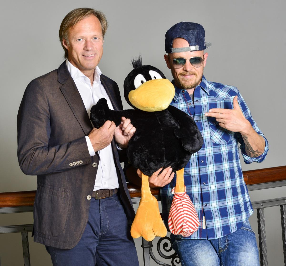"""""""Ich bin das Original"""": Jan Delay und Gerhard Delling im Interview zu Der kleine Rabe Socke 2"""
