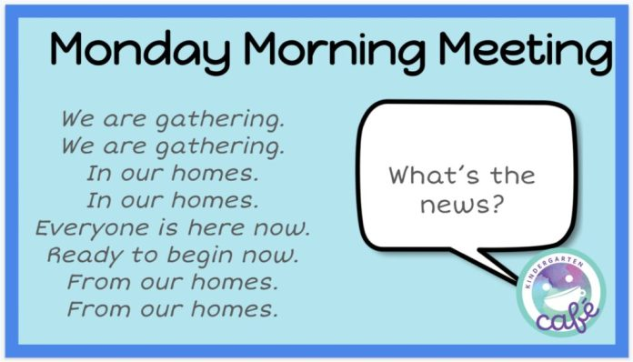 digital morning meeting