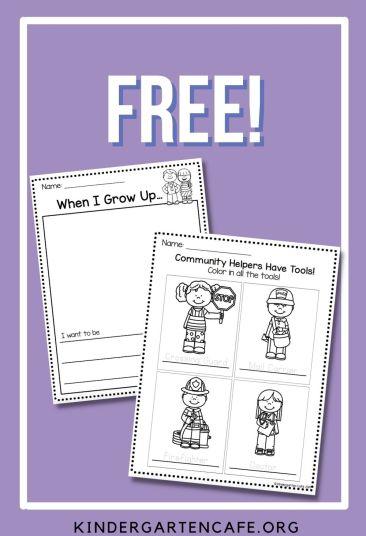 free community helpers activity