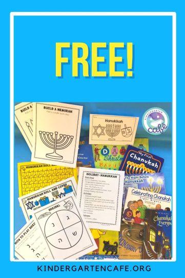 free Hanukkah activity for kids