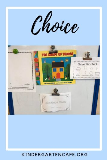 Offering choice to keep students engaged at the end of the year
