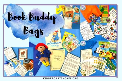 Motivating a student by sending home Book Buddy Bags!