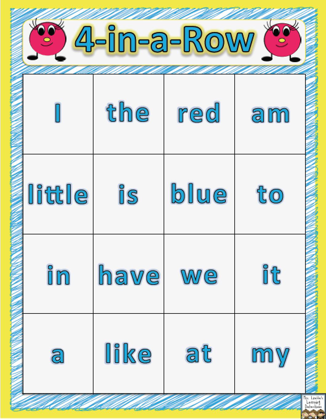 25 Fun Amp Free Ideas For Kindergarten Word Work