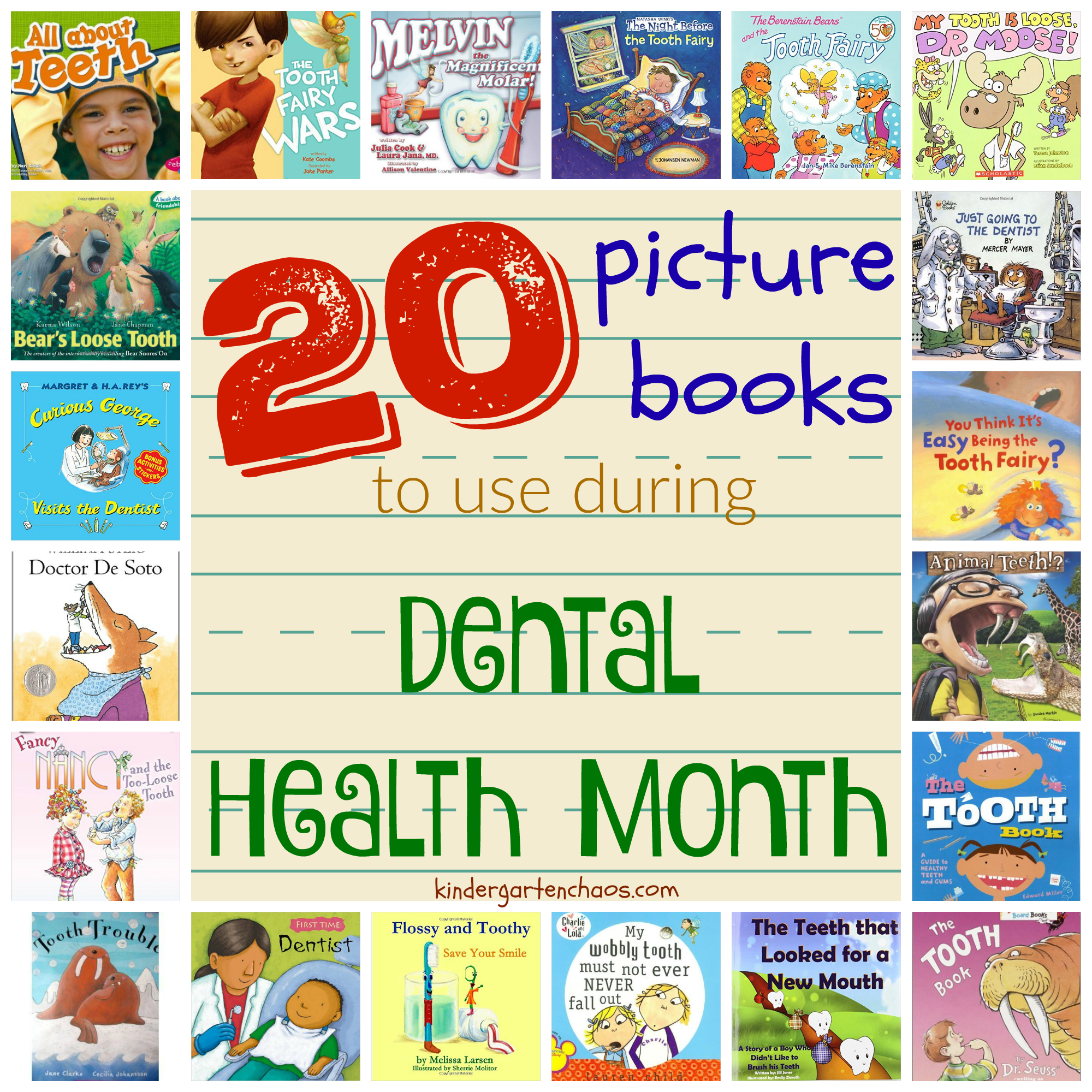 Ultimate List Of Dental Health Activities For The Classroom