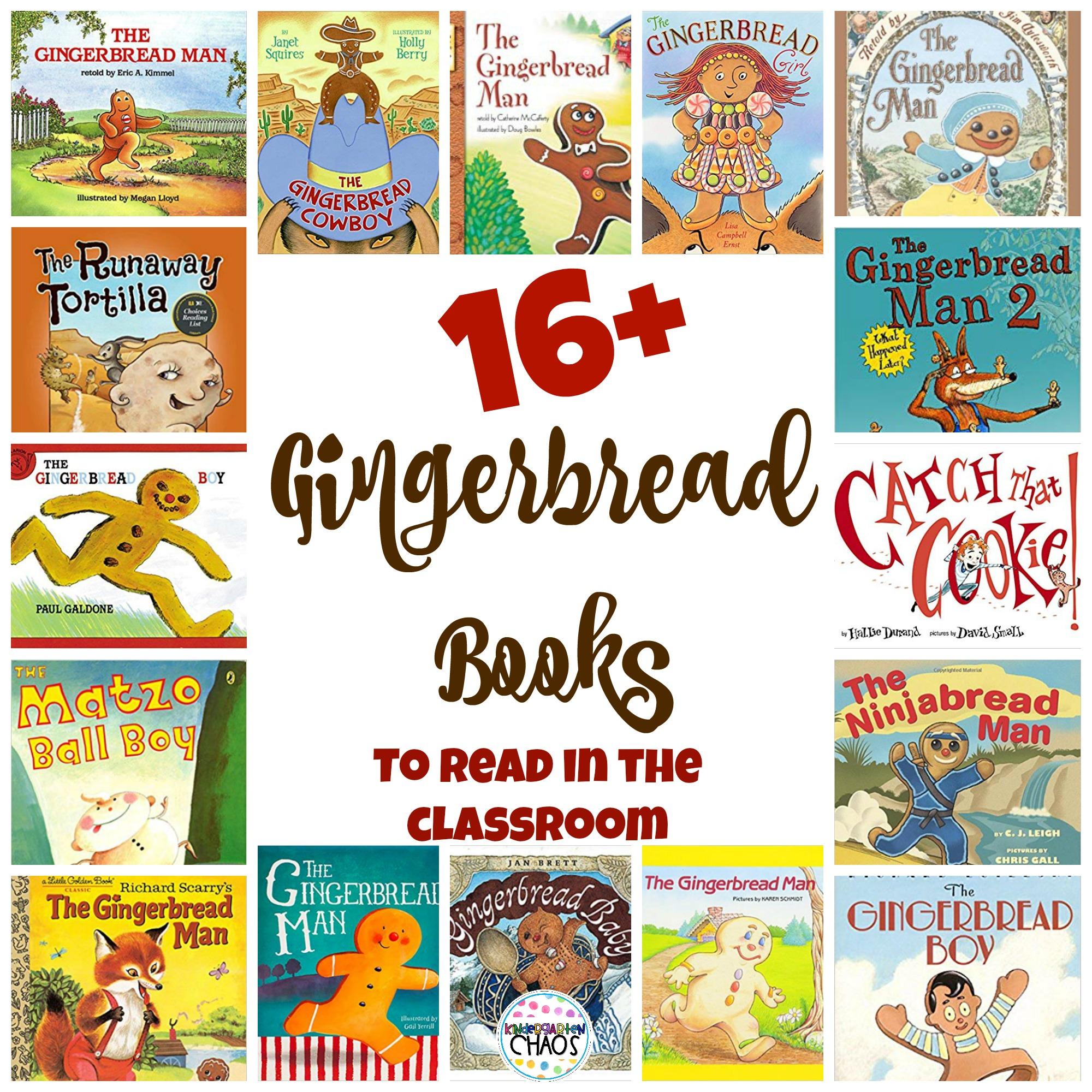 Gingerbread In The Kindergarten Classroom
