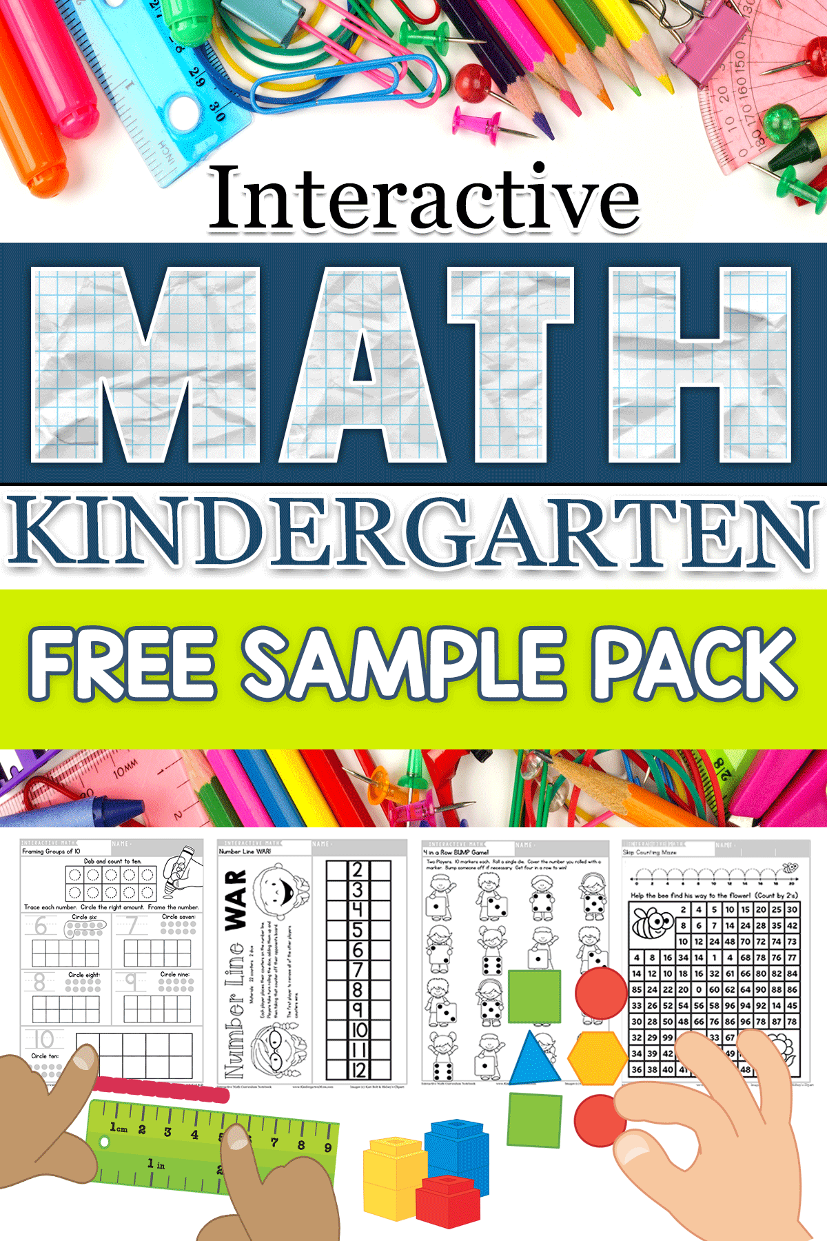 Kindergarten Math Printables