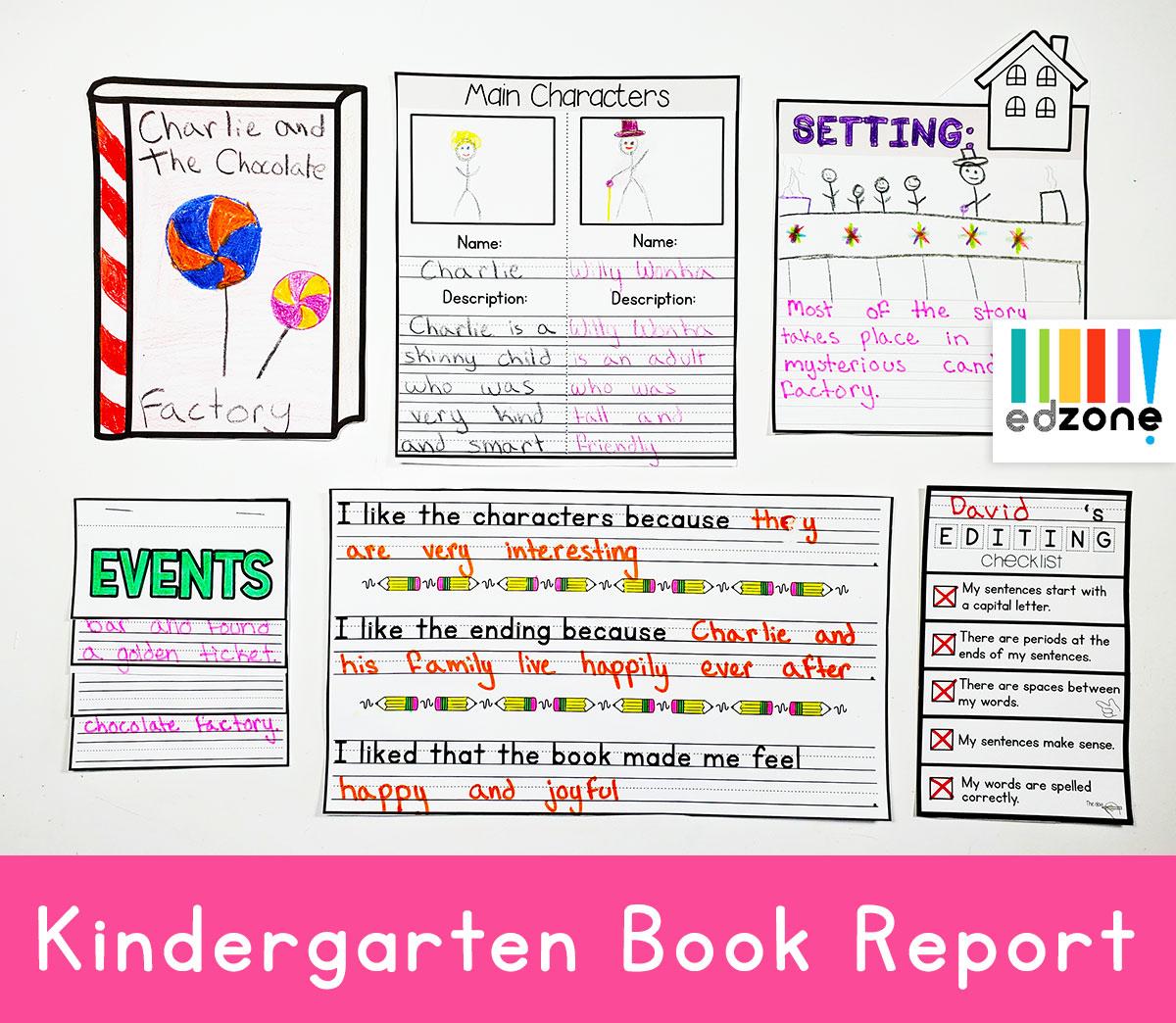 Kindergartenbookreport