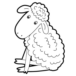 Heres A Cute Printable Lamb Clip Art Image Click Here For The Full Size Picture Mary Had