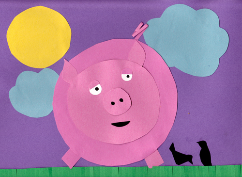 Pig Craft – Pig On A Farm