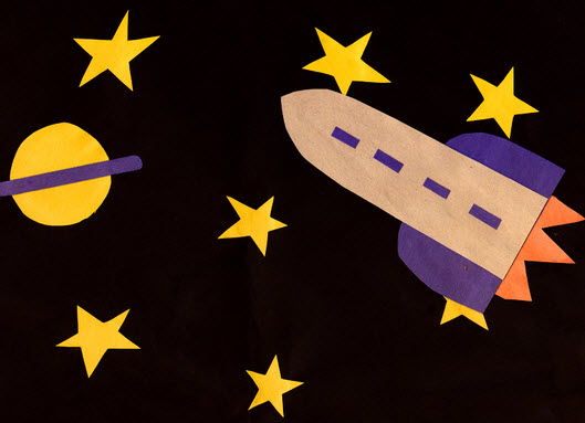 11 Easy Outer Space Crafts for Kids