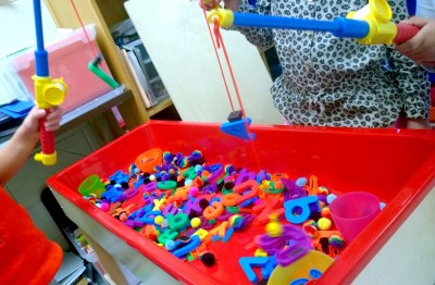 letter fishing activity