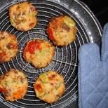 Pizzamuffins abkühlen lassen