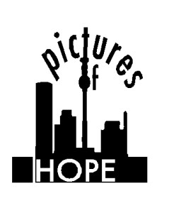 """Logo zur Ausstellung """"Pictures of Hope"""""""