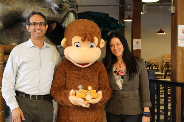 Mitch Rosenberg, KinderLab Robotics, Curious George with KIBO and Susan Leger Ferraro, Imajine That