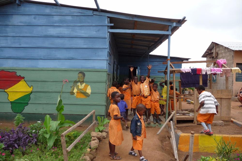 """Projekt """"Eine Schule für Ghana"""""""