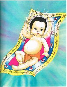 Blogwichtel_Siddharta als Baby