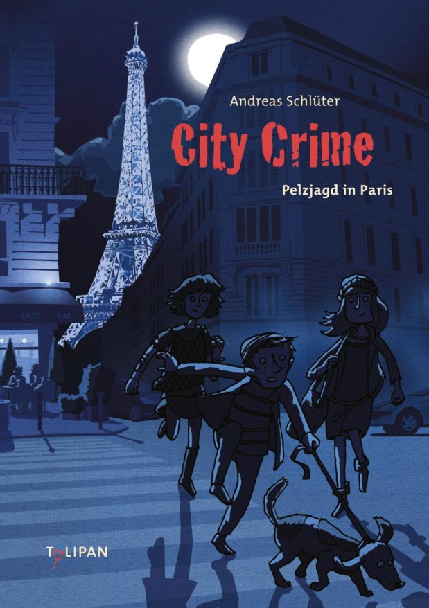 Andreas Schlüter: City Crime. Pelzjagd in Paris