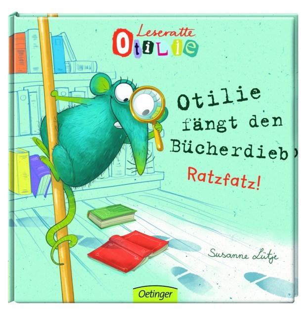 Susanne Lütje: Leseratte Otilie. Otilie fängt den Bücherdieb