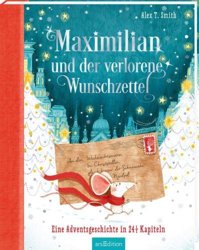 Cover Maximilian und der verlorene Wunschzettel Kinderbuch-Rezension