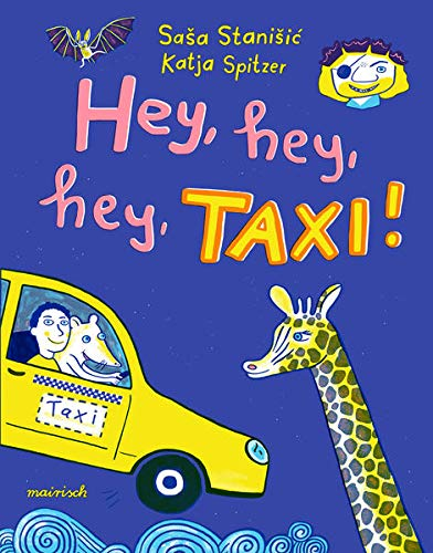 Saša Stanišić, Katja Spitzer: Hey, hey, hey, Taxi! Rezension