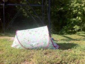 In Frankreich wild campen? Mon dieu! Foto (c) kinderoutdoor.de