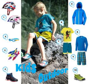 Was brauchen Outdoor Kids im Sommer für Kleidung und Schuhe? Wir zeigen es Euch! Foto (c) Hersteller!