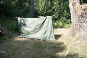 Wir sind auf der Zielgeraden zu unserem Kinderzelt. Foto (c) kinderoutdoor.de
