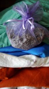 Hier ist unser Lavendelsäckchen bereits im Einsatz.  foto (c) kinderoutdoor.de