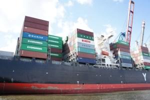 Kinder schnitzen ein Containerschiff: So sieht ein Teil vom Original aus.  foto (c) kinderoutdoor.de