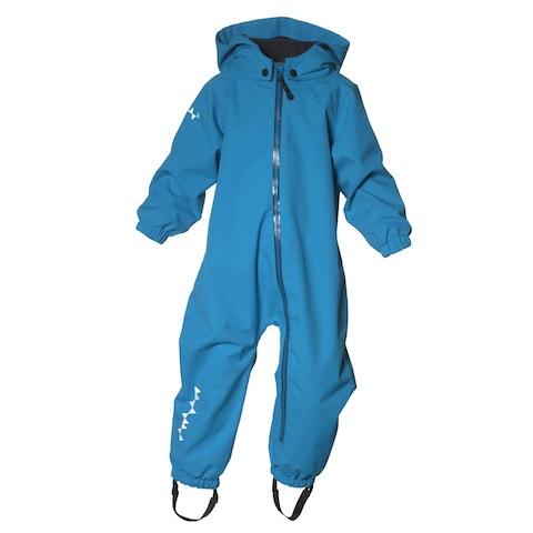 Bei Isbjörn of Sweden ist der Toddler Hardshell Jumpsuit neu im Programm. Ein Overall für Babys. foto (c) isbjörn of sweden
