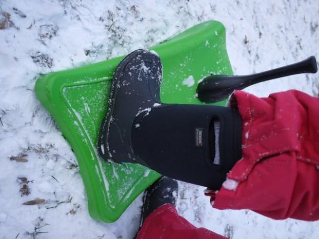 Bogs Kinderstiefel sind bis zu minus 30 Grad angenehm warm. foto (c) kinderoutdoor.de