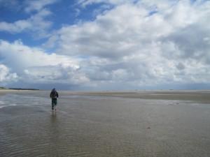 Watt willst du mehr? Entdeckt bei Cuxhaven einen ungewöhnlichen Lebensraum. Foto (c) kinderoutdoor.de