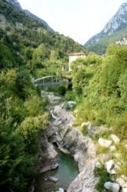 Wasser ist ein Grund gewesen, warum es im Valle delle Cartiere so viele Papiermühlen gab. foto (c) kinderoutdoor.de