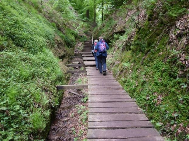 Ihr habt gut Drachen! Von der Familientour durch den Thüringer Wald erzählen die Kinder noch lange. foto (c) kinderoutdoor.de