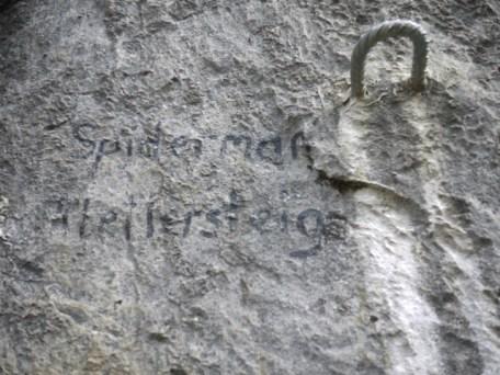 Wer sich an den Klettersteig Spiderman wagt, sollte eine Ahnung von der Via Ferrate und eine gute Ausrüstung haben. foto (c) kinderoutdoor.de
