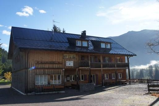 Eine familienfreundliche Hütte im Allgäu ist die Wannenkopfhütte. foto (c) kinderoutdoor.de