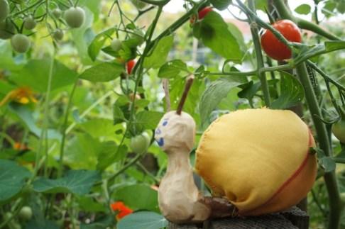 Keine Sorge, diese Schnecke will kein Gemüse verspeisen. foto (c) kinderoutdoor.de