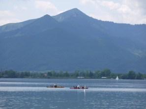 Berge, See und paddeln mit den Kindern. Beim Chiemsee liegt alles eng zusammen. foto (c) kinderoutdoor.de