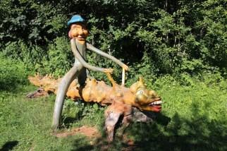 Schlühüwanapark im Schwarzwald ist für die Familie ein besonderes Naturerlebnis. foto (c) kinderoutdoor.de