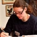 Kreative Schreibwerkstatt im Allotria-Gewölbekeller des Münchner Künstlerhauses Geschichten hinter historischen Mauern Foto:Marcus Schlaf, 02.02.2018