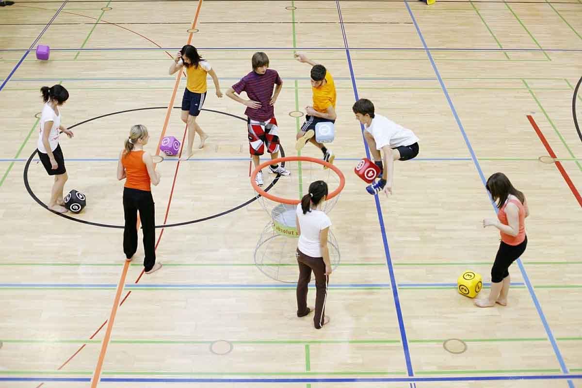 Kinder Schulsport
