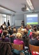 Kinder-Uni Veranstaltung auf dem Campus der Universität Erfurt