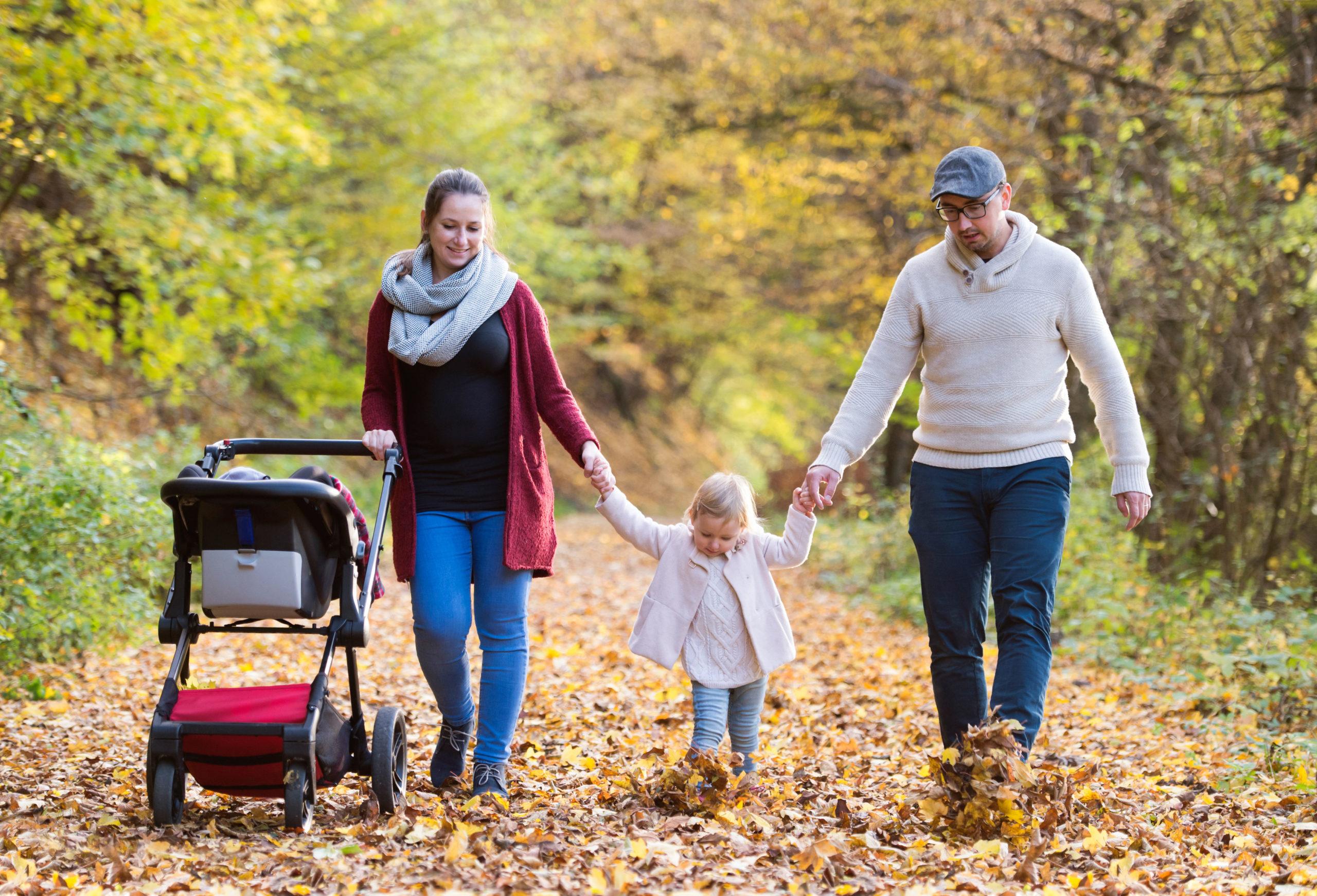 Frische Luft für Eltern und Kind