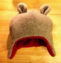 Warme Ohren für unser Bärenkind.