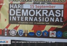 Photo of Memperingati Hari Demokrasi Internasional, BEM Provinsi Gorontalo Diskusi Bersama Aliansi Mahasiswa