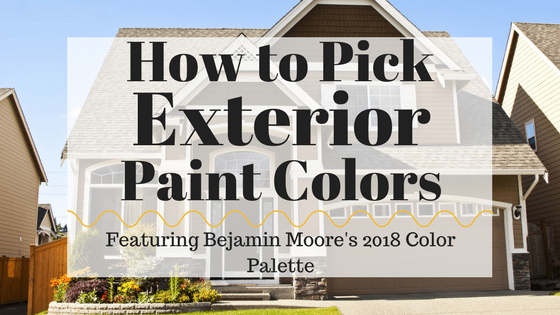 Choosing An Exterior Paint Color