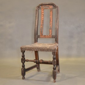 New England Side Chair Original Leather